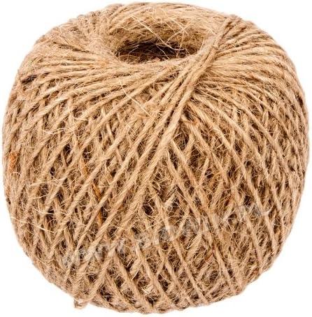 Jardín Maceta con cuerda cuerda Rank ayuda cáñamo cuerda del paquete Pack cuerda hilo 100 m/2, 5 mm 711102: Amazon.es: Jardín