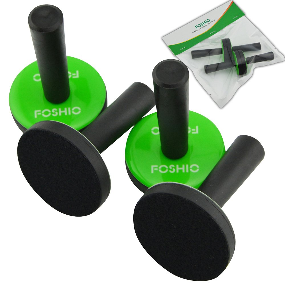 FOSHIO 4PCS Green Car Vinyl Wrap Gripper Magnet Holder Tints Tool Refrigerator Magnets