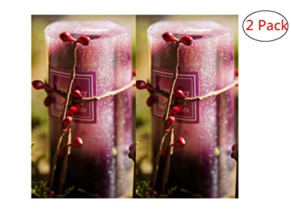Best Christmas Candles 2018.Handmade Candles Scented Aromatherapy Cylindrical Pillar