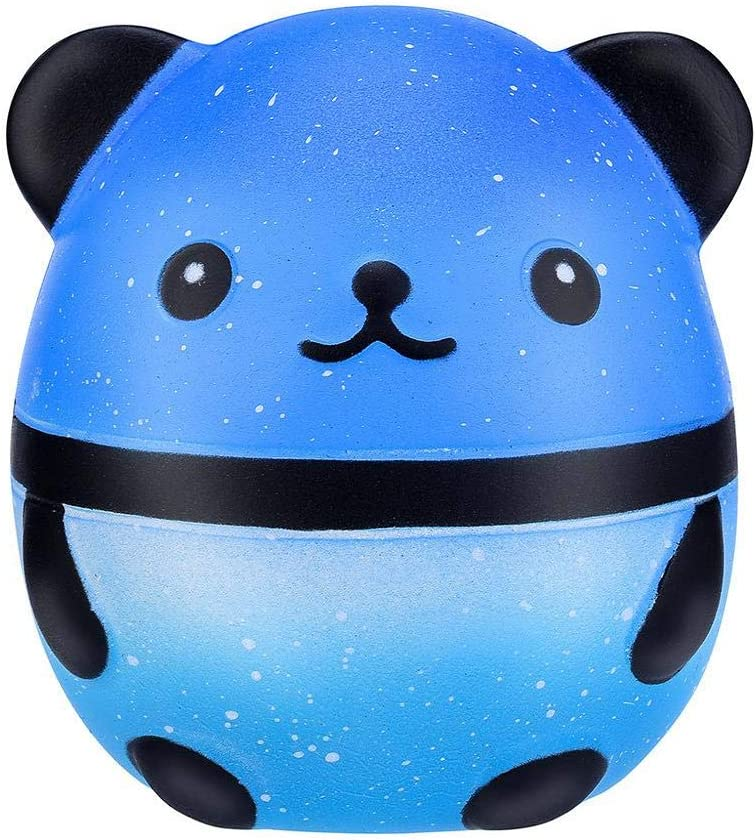 Wouke Jumbo Galaxy Panda Squishy Kawaii Slow Rising Cream Scent ...