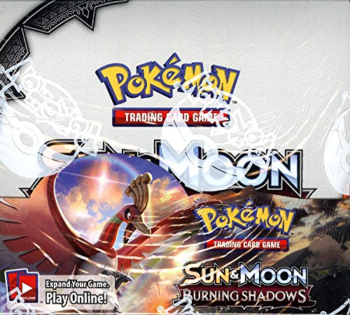 Pokemon TCG XY Sun & Moon Burning Shadows Booster 36 Pack Box (Sealed/English)