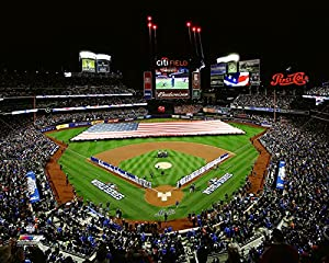 "Citi Field New York Mets 2015 MLB World Series Game 3 Photo (Size: 8"" x 10"")"