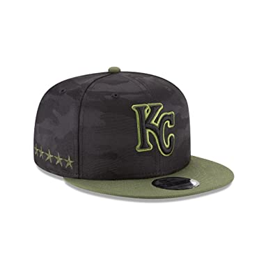 5bd0a63e Amazon.com: New Era Kansas City Royals Memorial Day Snapback Cap ...