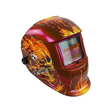 Soldadura Casco, Solar Auto Oscurecimiento Eléctrico Mascara/Casco/Soldador Cap/Soldadura Lente/Ojos Mascarilla para Máquina de Soldar y Herramientas de ...