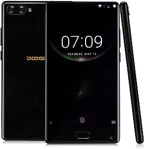 DOOGEE Mix - Pantalla AMOLED de 5.5 Pulgadas Sin Bisel Androide 7.0 4G Smartphone, Helio P25 Octa Core 2.5GHz 4GB RAM + 64GB ROM, cámara Frontal 5MP + cámara Trasera Dual (8MP + 16MP): Amazon.es: Electrónica