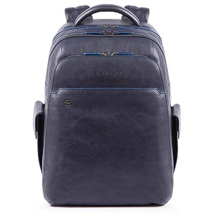 Piquadro Blue Square Special Business Mochila piel 43 cm compartimento Laptop