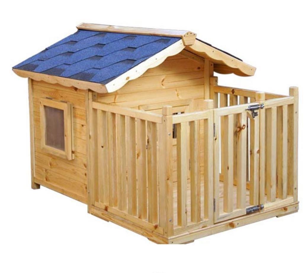 Kennel / Hundehaus / Outdoor / Holz / Wasser / Villa / mittelgroßen Hund / Tierbedarf / S, M, L, XL , S