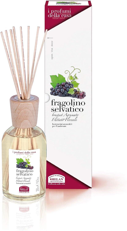 Helan I Profumi della Casa Bastoncini Aromatici Fragolino Selvatico 250 mL