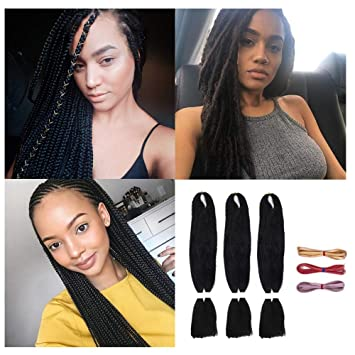 Amazon Com 3packs 26 Jumbo Braiding Hair Extensions Natural