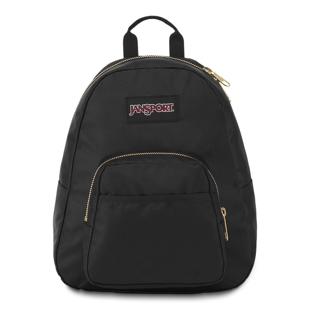 JanSport Half Pint FX Mini Backpack - Black/Gold by JanSport (Image #1)