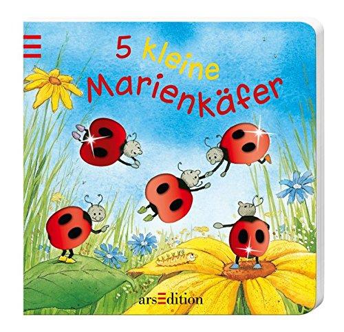 5 kleine Marienkäfer (5er Mini)