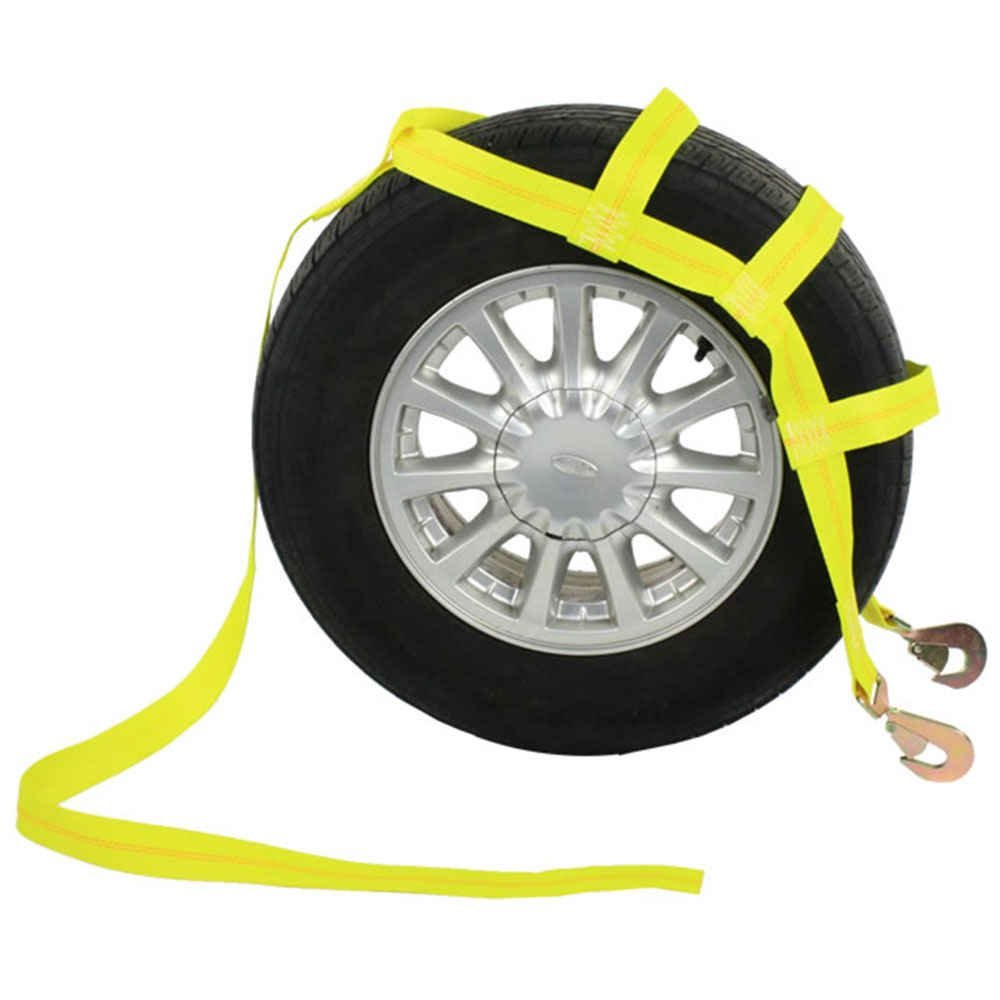 amazon com tow dolly basket strap with twisted snap hooks automotive