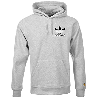 bae22c98 Stone Roses Ian Brown Wanna Be Adored Tribute Grey Hoodie Spike Island  Hoodie: Amazon.co.uk: Clothing