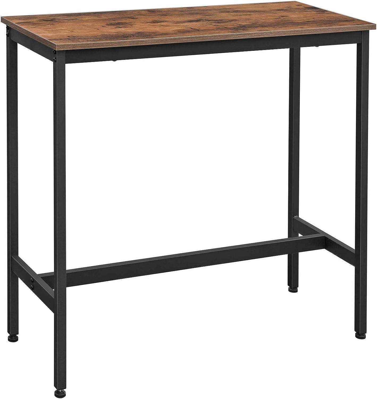 Vasagle LBT9X Bar Table, Kitchen Table, Kitchen Counter ...