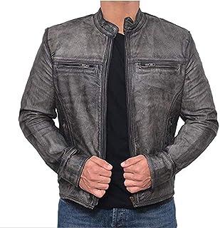 Trailblazerzz Mens Leather Jackets Motorcycle Leather Jacket