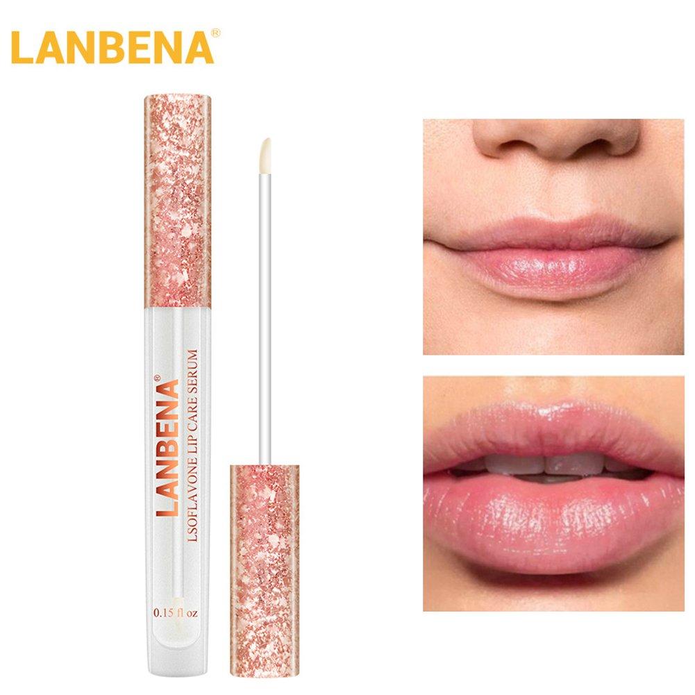 XuBa Lip Care Serum Lip Plumper Increase Lip Elasticity Reduce Fine Lines Repairing Moisturizing Lip Care Liquid
