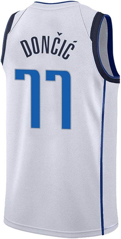 Dallas Mavericks Doncic #77 Basketball Jersey Camiseta para Hombre ...