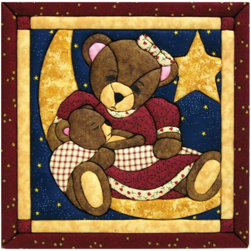 Quilt Magic 12-Inch by 12-Inch Momma and Baby Bear Kit
