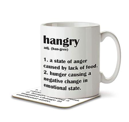 Mug and Coaster By Inky Penguin Calories Definition Funny Mug Sets