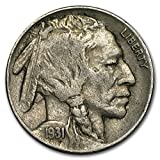 #6: 1931 S Buffalo Nickel Fine Nickel Fine