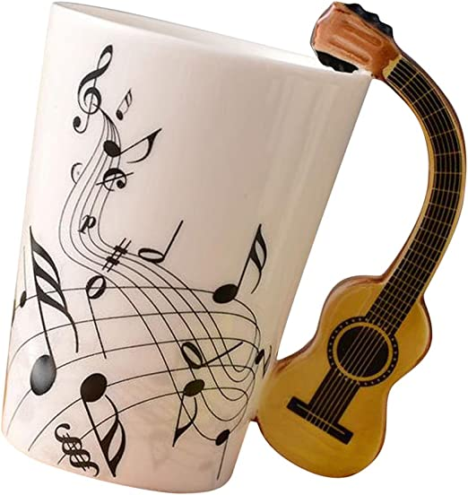 Gen'rico Taza de Café Copa de Guitarra Versátil Accesorios ...