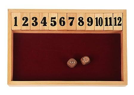 Cierra el juego de la caja, juego de mesa de madera, juegos de ...