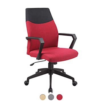 Fauteuil Confortrouge Flet Bureau Kayelles Chaise Design mN0nw8
