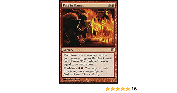 Mythic Rare Past in Flames Innistrad NM MTG Magic