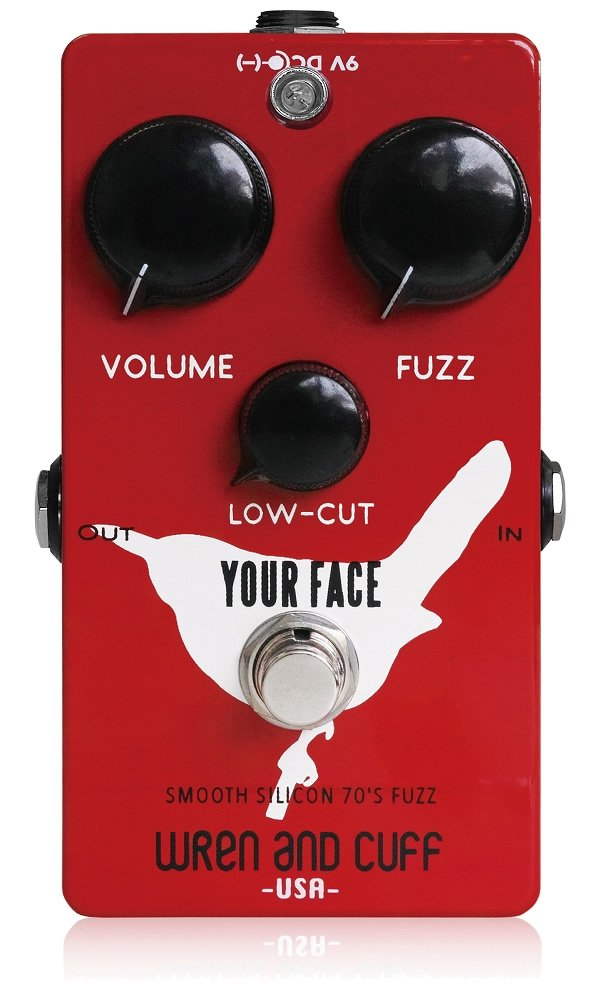 Wren and Cuff Creations レナンドカフクリエイションズ ファズ Your Face Smooth Silicon 70's Fuzz (国内正規品) B00DU1HG4O