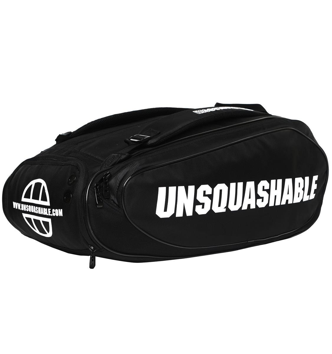 Unsquashable Bolsa Unisex para Raqueta de Tour Tec, Color Negro, Talla M USQL16002B