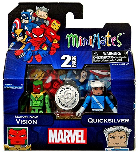 Marvel Minimates Exclusives Marvel Now Vision & Quicksilver Minifigure 2-Pack