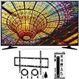 LG 65UH5500 - 65-Inch 4K Ultra HD Smart LED TV w/ webOS 3.0 Flat Wall Mount Bundle includes TV, Flat Wall Mount Ultimate Kit and 6 Outlet Power Strip with Dual USB Ports
