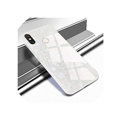 Amazon.com: Funda de cristal templado para Xiaomi Mi 8 mi8 ...