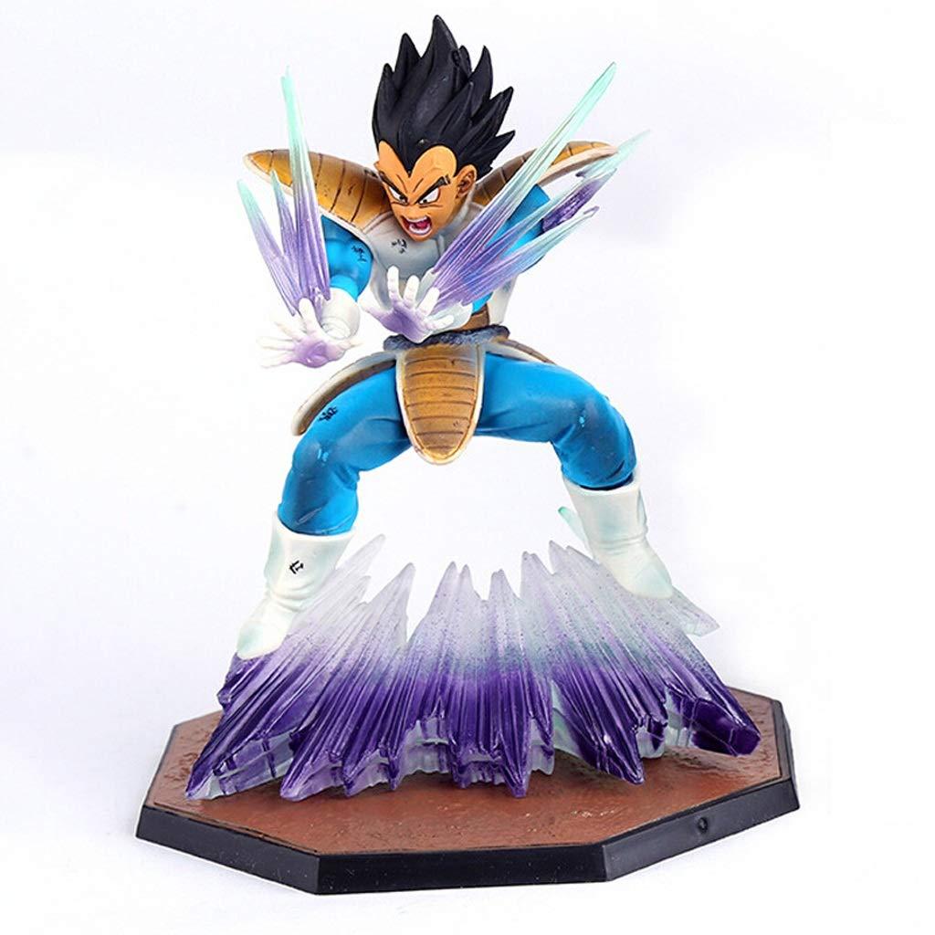 Xuping Dragon Ball Modelo de Juguete Traje de Batalla Personaje Estatua Decoración/Regalo/Colección/Artesanía/Navidad/Regalo navideño (Alto Sobre 16cm)
