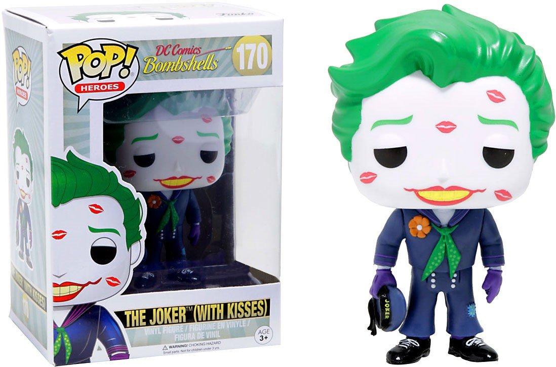 Funko Pop! DC Bombshells - Joker with kisses