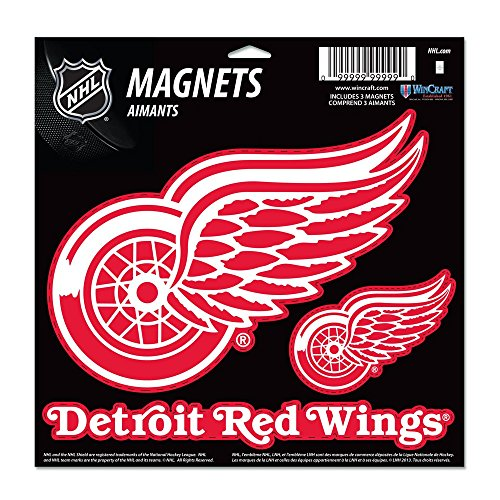 Nhl Magnets (NHL Detroit Red Wings Vinyl Magnet, 11 x 11