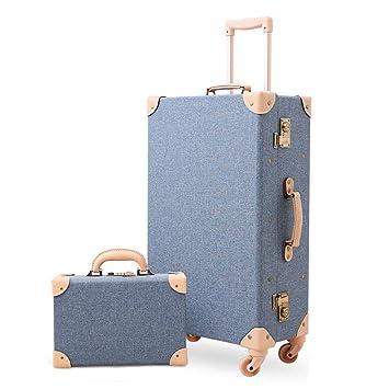 Amazon.com: XDD - Juego de maletas de 2 piezas, maleta con ...