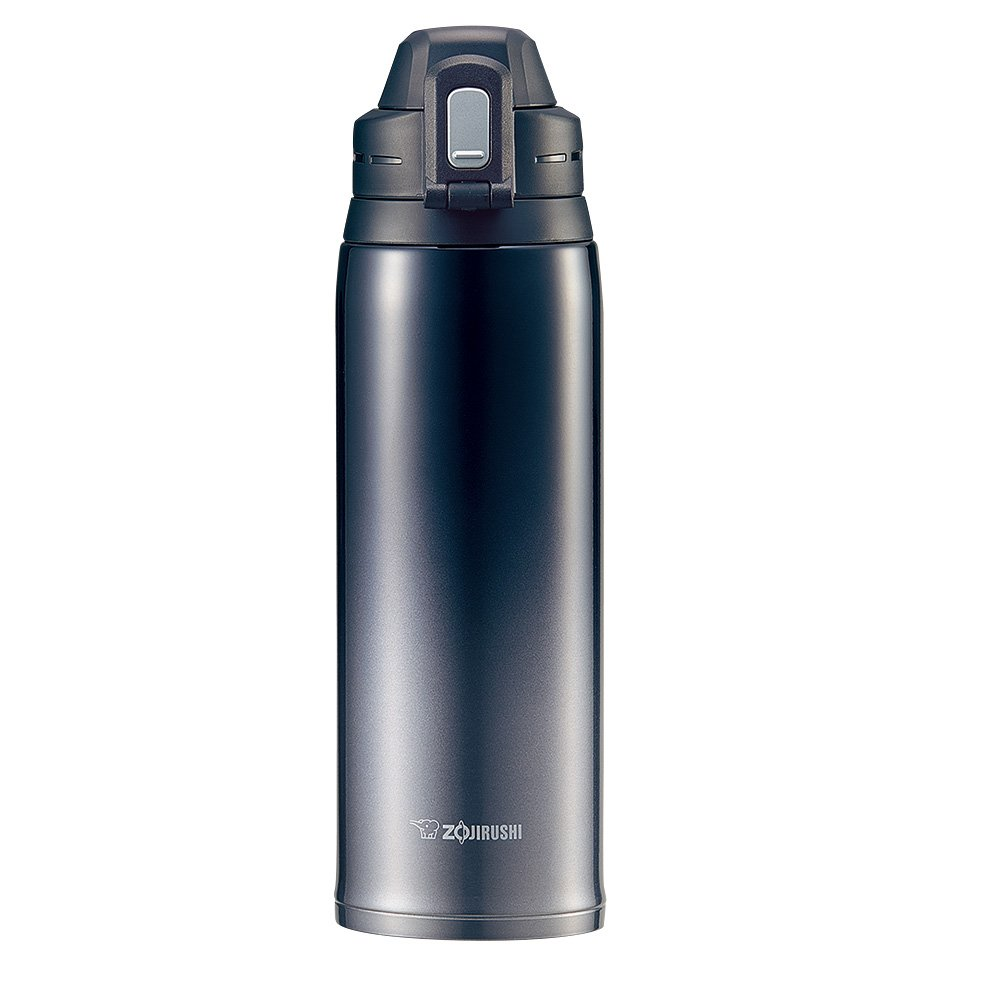 Zojirushi SD-ES10BZ Cool Bottle Stainless Steel Mug, 35-Ounce, Gradation Black by Zojirushi