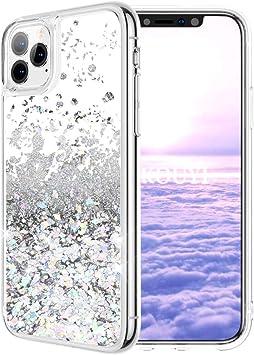 KOUYI Funda iPhone 11 Pro (5,8 Pulgadas), Brillo Liquida Claro 3D ...