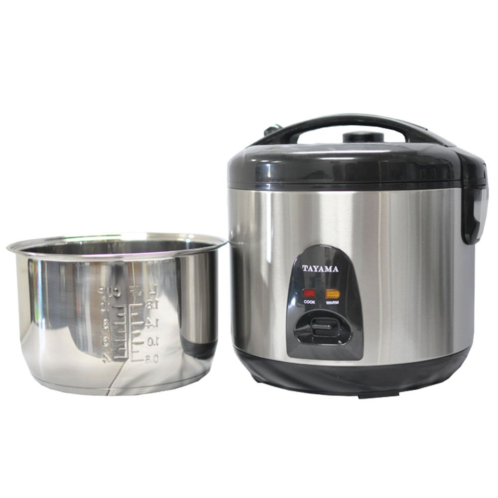 Amazon.com: Tayama Stainless Steel Rice Cooker: Oyama Rice Cooker Stainless  Steel Inner Pot: Kitchen & Dining