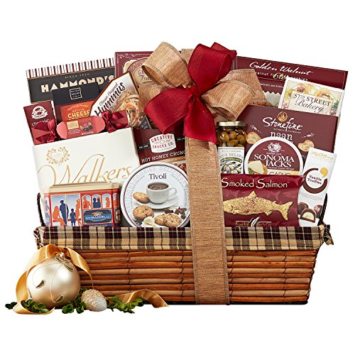 Wine Country Gift Baskets The Classic, 8.17 Pound (Wine And Cheese Gift Baskets Delivery)