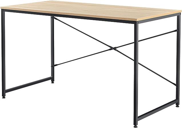 [en.casa] Mesa Escritorio 120 x 60 x 72 cm Mesa de Oficina Mesa ...