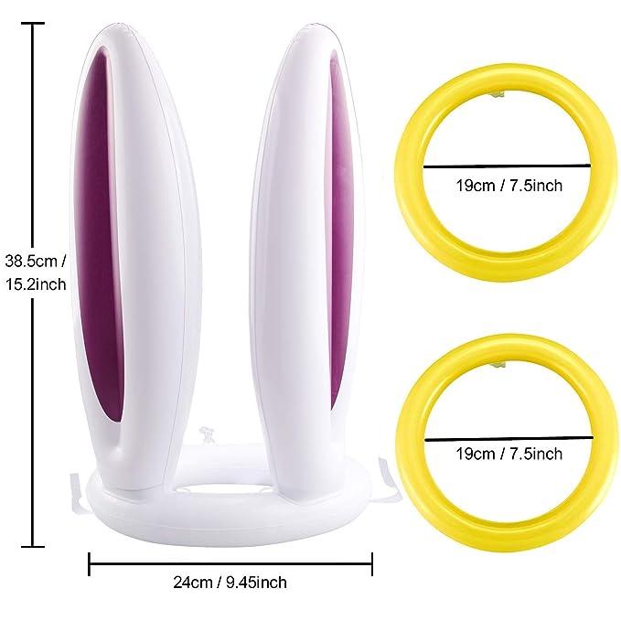 Amazon.com: Lystin - Lote de 2 anillos hinchables para ...
