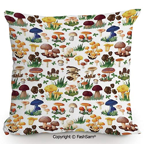 FashSam Decorative Throw Pillow Cover Pattern with
