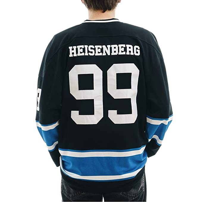 a4170c9df Breaking Bad Heisenberg Hockey Jersey Walter White AMC Ice  99 Licensed TV  (X-