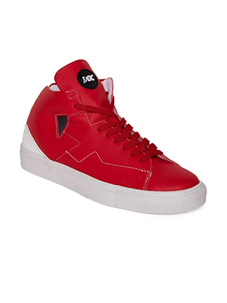 DOC Martin Red BAB 1 Sneakers at Amazon