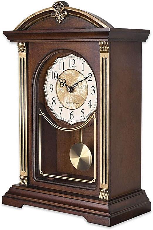 Reloj de mesa, Reloj de mesa para sala de estar Decoración Música ...