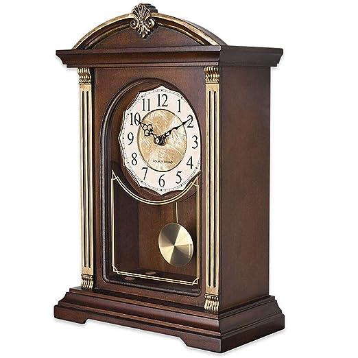 Reloj clásico Reloj de mesa para sala de estar Decoración Música ...