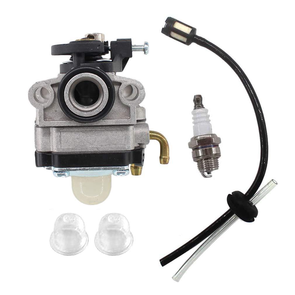 Aisen carburador + Bujía + tubos flexibles para TCK desbrozadora ...