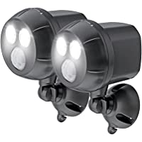 2-Pack Mr. Beams MB392 400 Lumen Version Weatherproof Spotlight